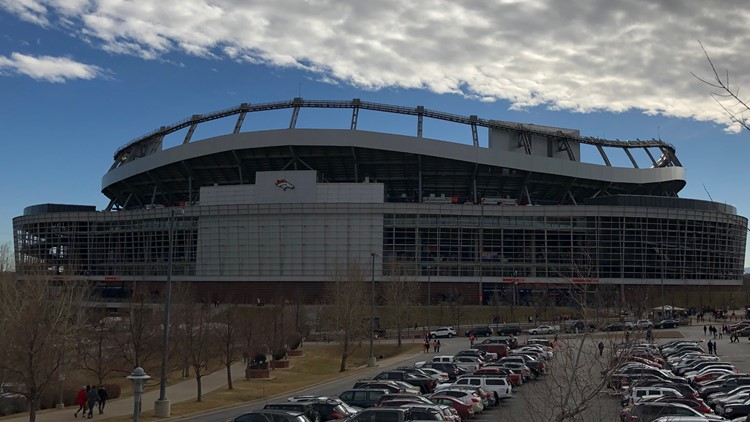 Broncos Stadium at Mile High Clouds Dec 2018 Alex Kirk