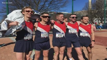 Colorado's 'Good Boys' on race day at the Olympic Marathon Trials