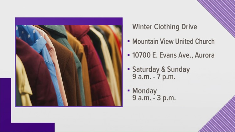 Winter clothes needed for refugees; drop off in Colorado