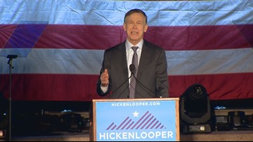 Hickenlooper appears at CNN town hall Wednesday night