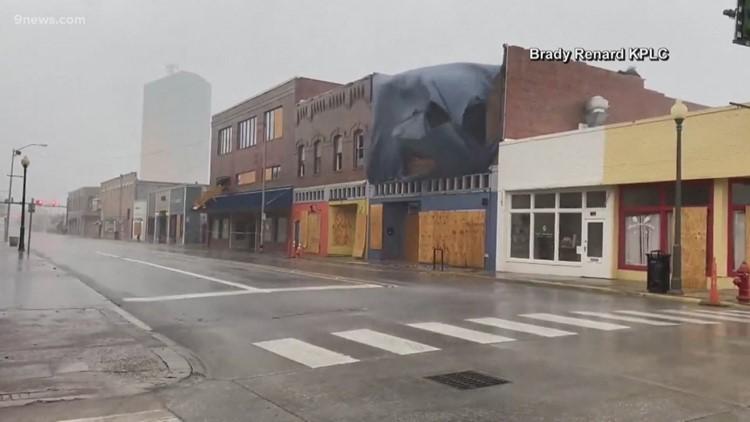 Tropical Storm Delta lashes Louisiana