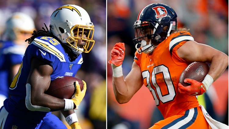 How will Melvin Gordon and Phillip Lindsay split Broncos carries? |  9news.com
