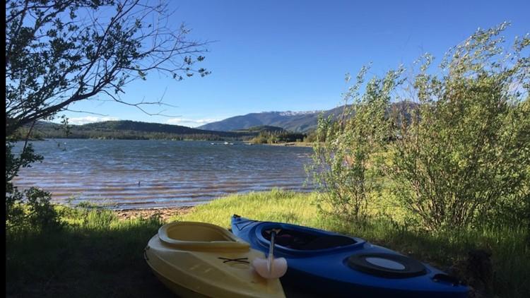 Kayaking at Lake Dillon