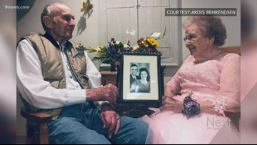 Sweet Colorado couple celebrates 72 years of marriage in assisted care facility