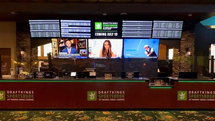 DraftKings sportsbook opens at Mardi Gras Casino in Black Hawk | 9news.com