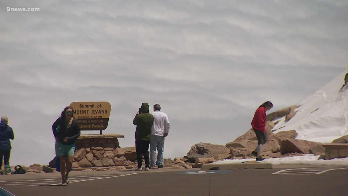 New reservation system coming for Mount Evans, Brainard Lake