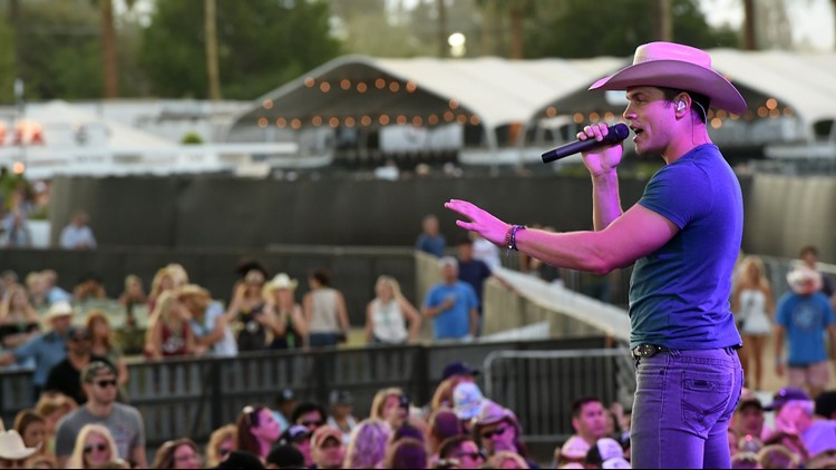 08676ec64169d Musician Dustin Lynch performs onstage during 2016 Stagecoach California s  Country Music Festival at Empire Polo Club