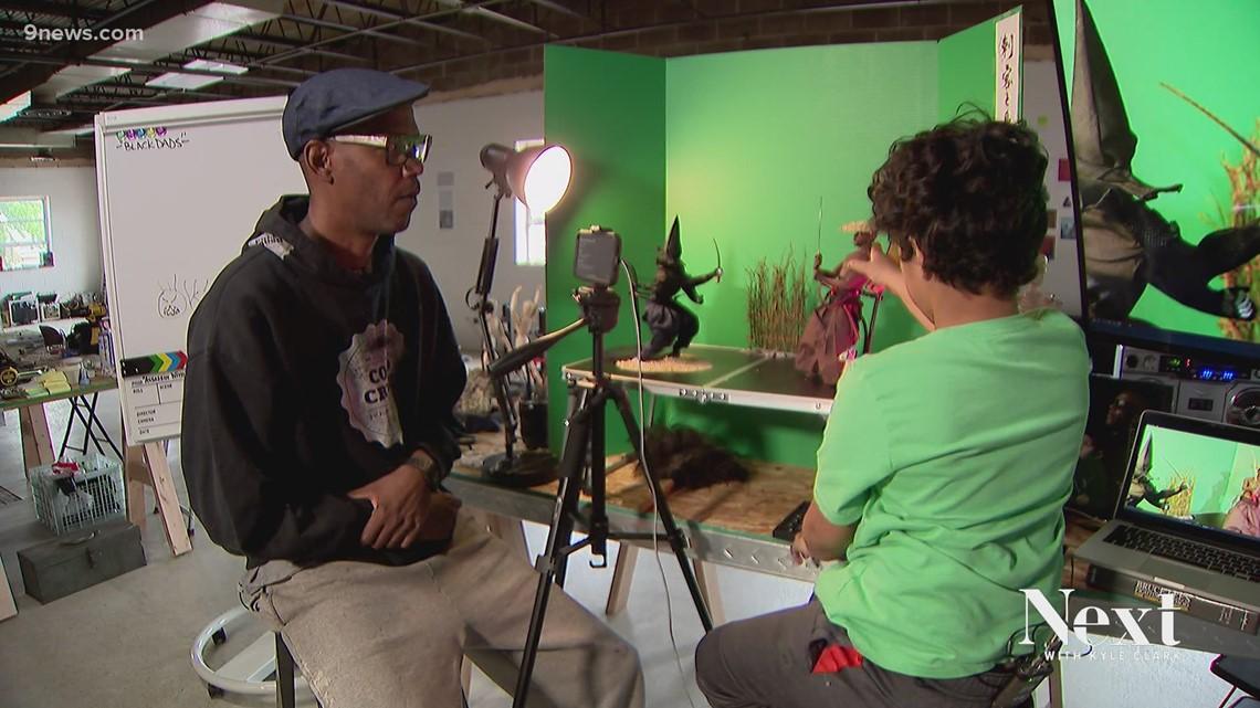 Denver artist creating stop-motion samurai film with his son