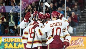 DU hockey advances to Frozen Four
