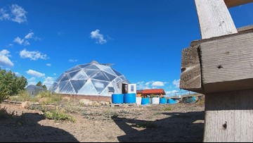 Grow dome in Leadville keeps gardening season going even as temps drop into the 30s