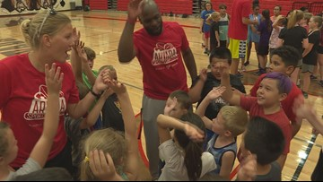Arvada High School athletics show love to community
