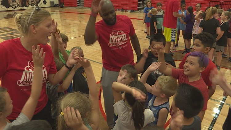 Arvada High School athletics show love to community