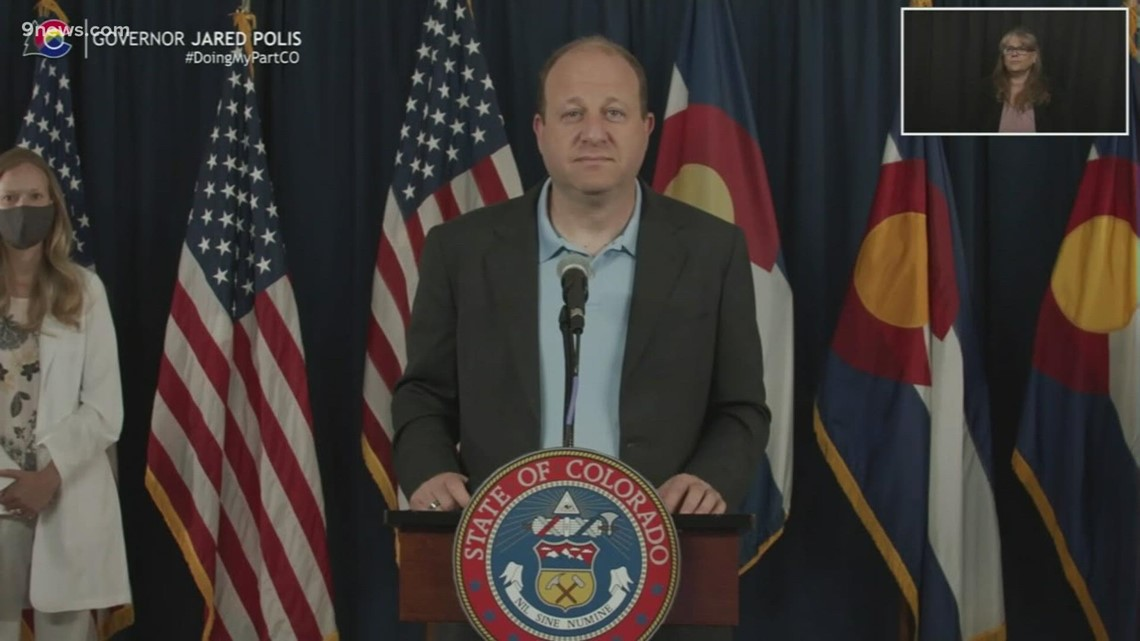 WATCH LIVE: Gov. Polis updates the state's mask wearing order