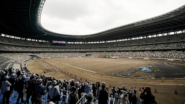 Tokyo Olympic stadium 90% complete; opening set for December