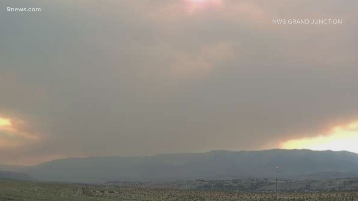 Multiple wildfires burning throughout Colorado