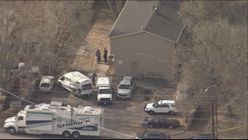Homicide victim found in concrete at Adams County apartment complex
