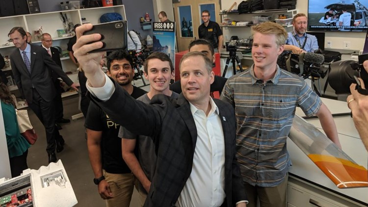 NASA Administrator Jim Bridenstine at CU Boulder
