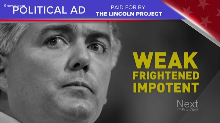 Truth test: Digital ad attacks Colorado Senator Cory Gardner's manhood, dedication to Trump