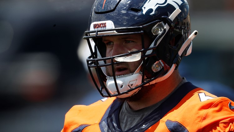 Broncos sign Risner; Lock remains unsigned ahead of training camp