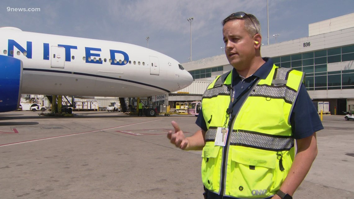 United Airlines working to keep up with summer travel and heat