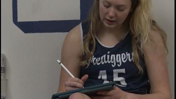 MIC'D UP: Mines athlete balances brains and basketball