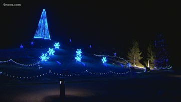 Home for the Holidays: There's a magical light show set to music in Loveland