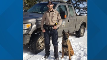 Donations fund protective vests for 2 Colorado K9s