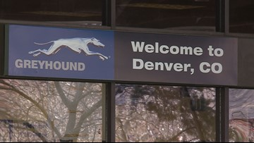 Downtown Denver's Greyhound bus station is officially on the market