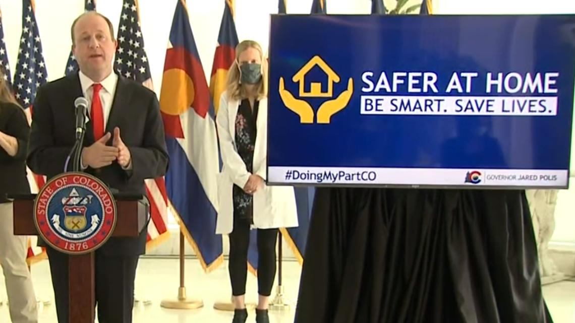 Colorado Coronavirus Governor Outlines Safer At Home Model 9news Com