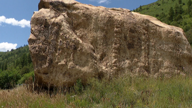 Rediscovering Colorado: The giant boulder that became a tourist attraction