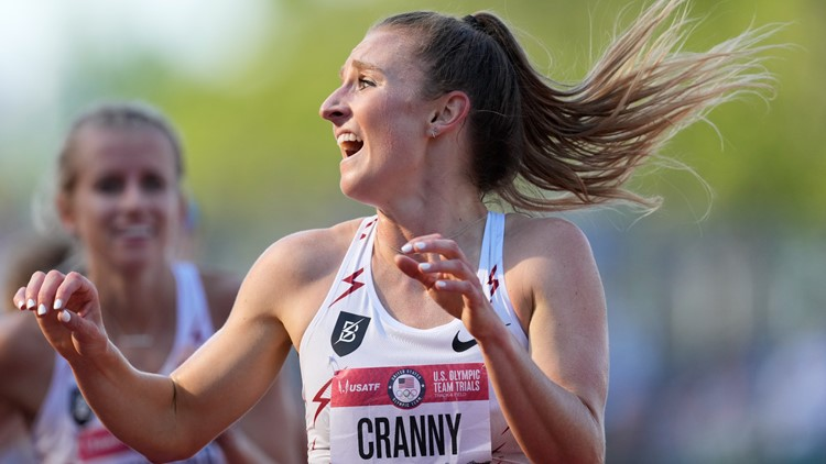 Niwot High School alum Elise Cranny wins 5,000-meter race, headed to Tokyo Olympics