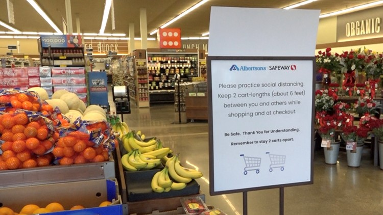 grocery social distancing