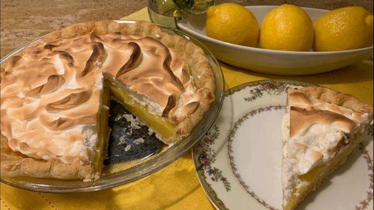 Lemony, tart and sweet
