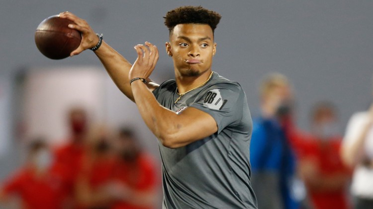Mike's Mystery Mockster goes big with Broncos taking Justin Fields at No. 9