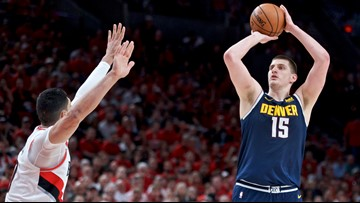 Nuggets even series with Blazers at 2 with 116-112 victory