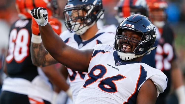 Broncos Bengals Football Shelby Harris