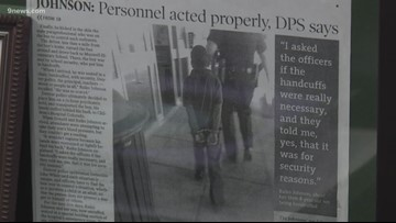 DPS approves policy to limit handcuff use following incident involving 7-year-old
