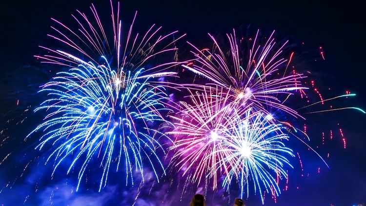Here's a list of fireworks shows across Colorado