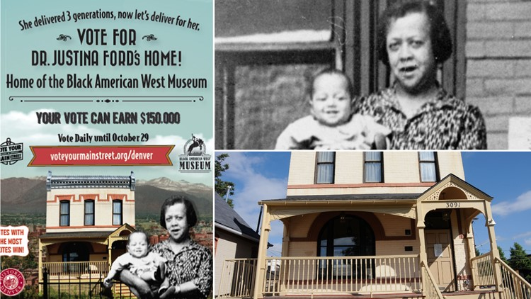 Black American West Museum & Heritage Center  Dr. Justina Ford Home