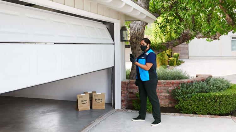 Amazon Key In-Garage Grocery Delivery