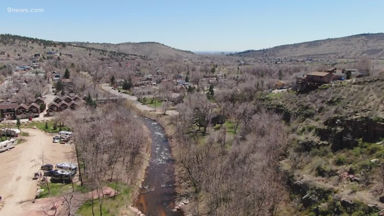 'Significant fish kill' reported after tanker spills gasoline into North St. Vrain Creek near Lyons