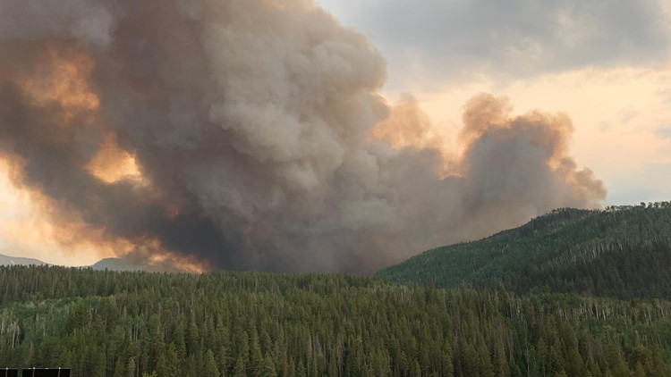 Here are the wildfires currently burning in Colorado