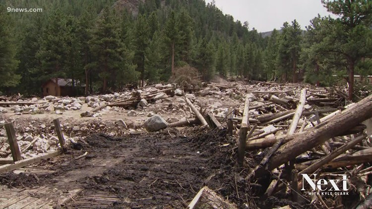Going door-to-door in Colorado to warn of mudslides, flash floods