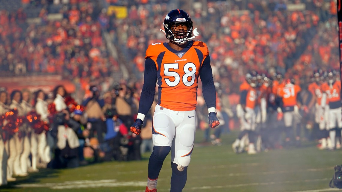 Von Miller overcame early troubles to become All-Decade selection