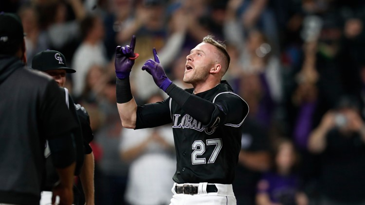 Story hits 2-run homer in 9th, Rockies beat Orioles 8-6