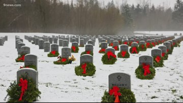 Group hopes to place wreaths on all graves at  Colorado National Cemeteries