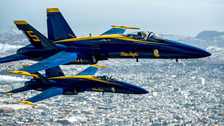 Blue Angels announce return to Colorado