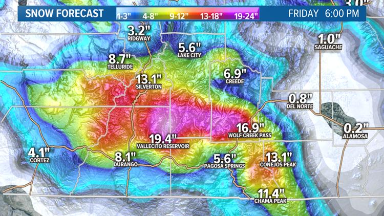 Southwest Colorado Forecast