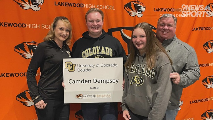 Lakewood's Camden Dempsey earns Boettcher Scholarship