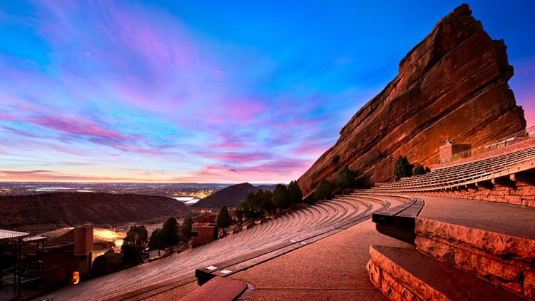 Here's who is playing Red Rocks this summer
